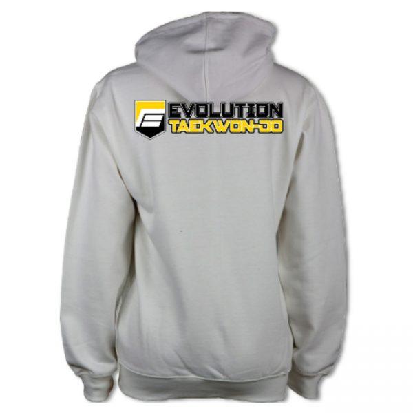 Evolution Taekwon Do Varsity Hoodie Back