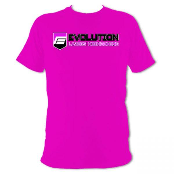 Ladies Kickboxing T-Shirt Pink