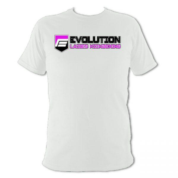 Ladies Kickboxing T-Shirt White