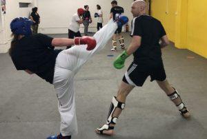 Dodging the kick